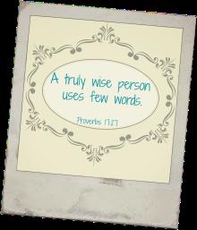 Proverbs 1727