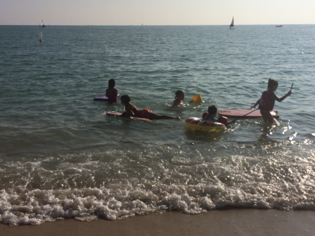 kids:beach
